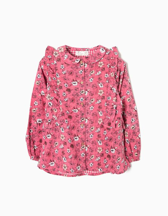 Blusa Interior Vichy Rosa