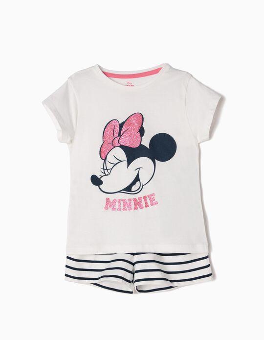 Conjunto de Camiseta y Short Minnie