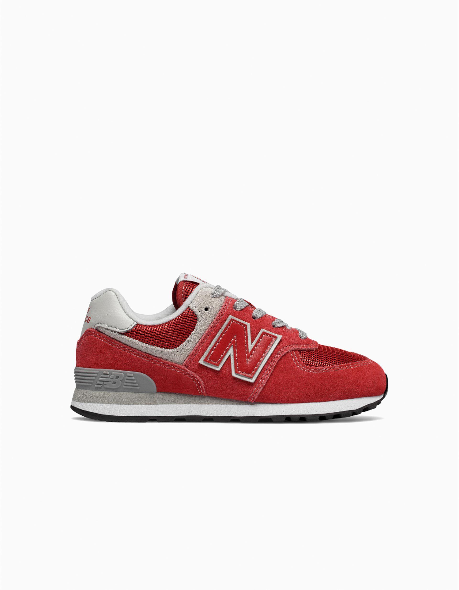 new balance rojas y blancas
