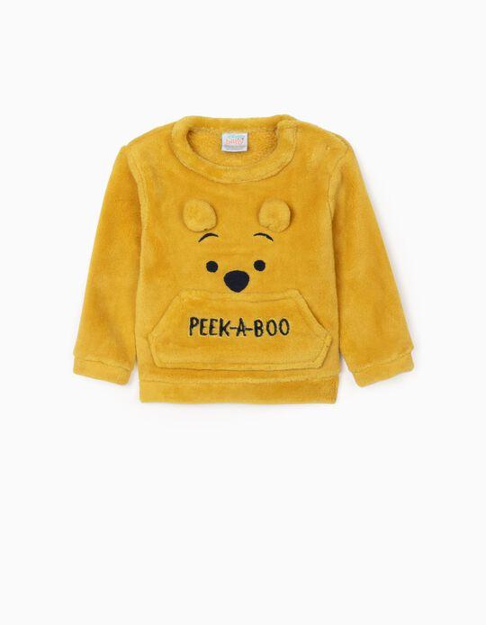 Camiseta para Recién Nacido 'Peek-A-Boo', Amarilla