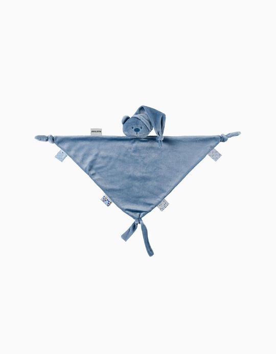 Maxi Doudou Lapidou Bear Nattou Dark Blue Recycled Polyester