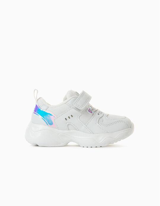 Zapatillas Chunky para Bebé Niña 'ZY Superlight Runner', Blanco