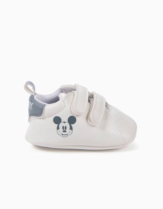 Zapatillas Pre-Walker Mickey Blancas