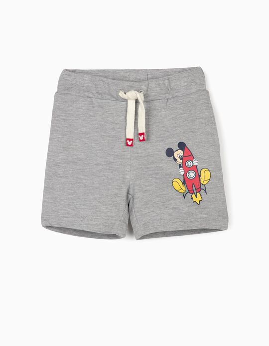 Calções de Treino para Bebé Menino 'Mickey', Cinza