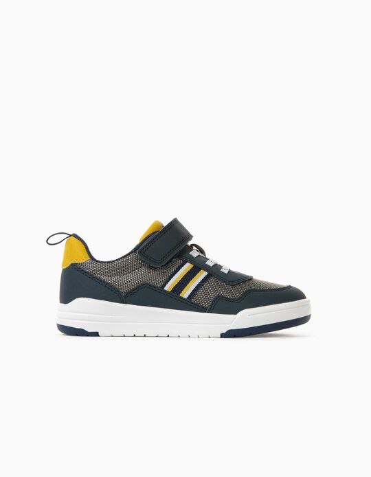 Blend Trainers for Boys 'Kansas', Blue/Yellow