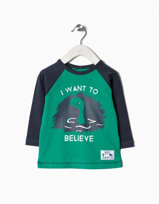 Camiseta bicolor Nessie
