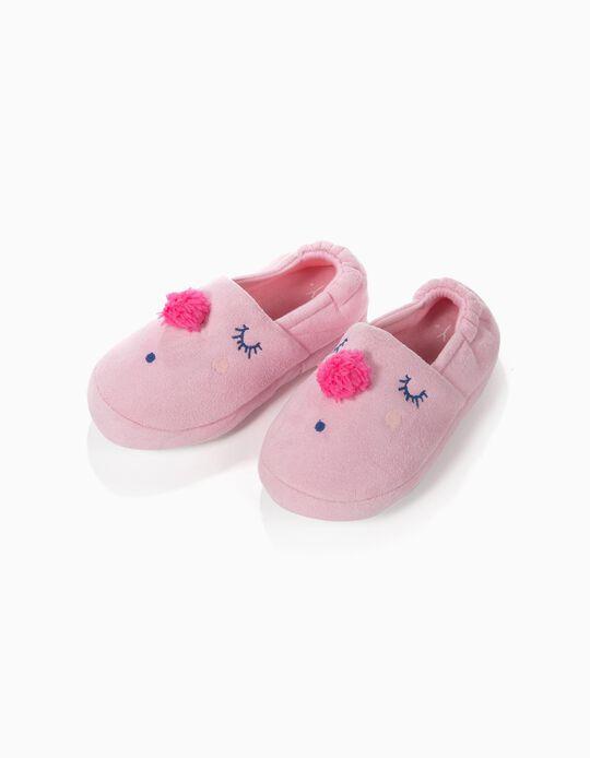 Zapatillas de Casa Slip-on Pompón