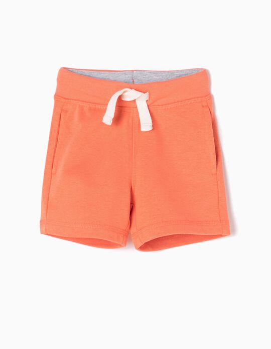 Short Deportivo Naranja