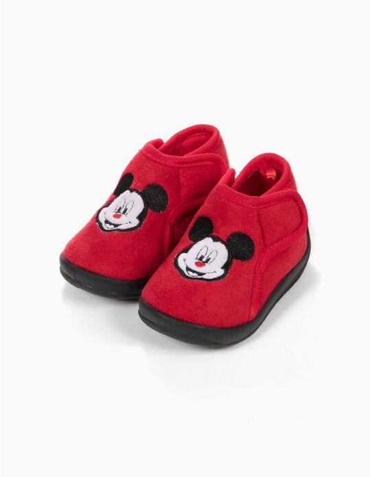 Pantufas Bota Mickey