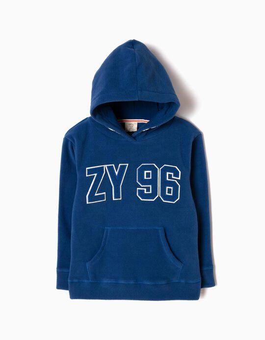 Sudadera Polar ZY Azul