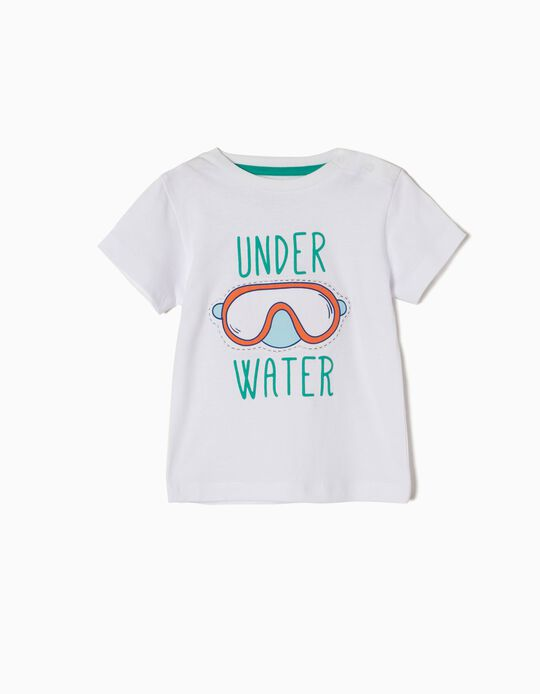 Camiseta Estampada Underwater