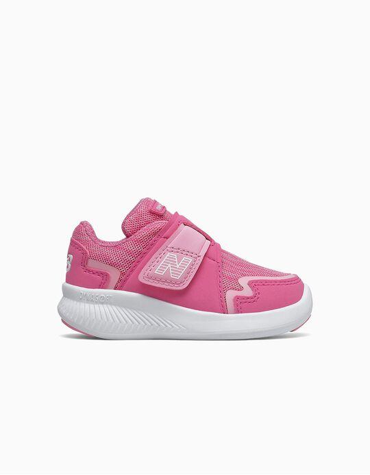 Zapatillas para Bebé Niña 'New Balance Wrap & Run', Rosa