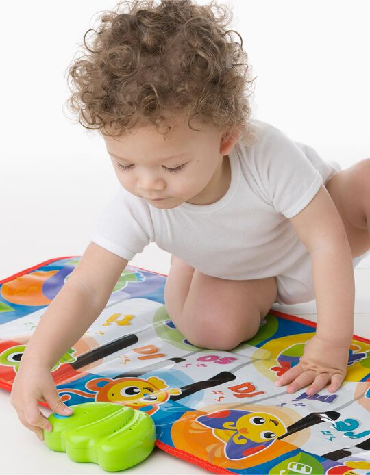 Centro de Actividades Jumbo Jungle Musical Piano Mat Playgro