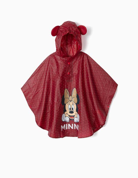 Capa de Lluvia para Niña 'Minnie', Bordeos