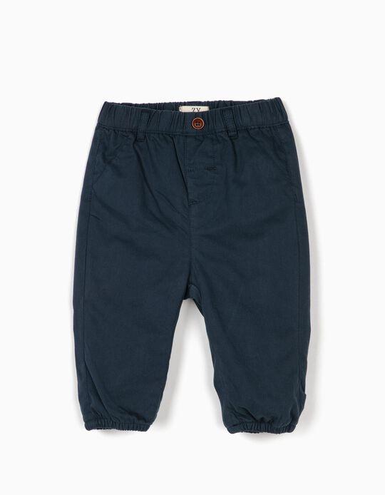 Pantalón para Recién Nacido, Azul Oscuro