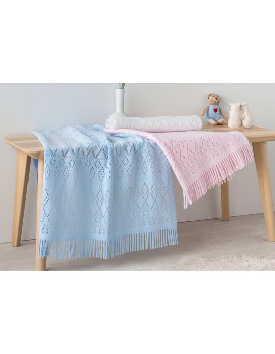 Manta De Crochet 80x90 cm Pielsa Baby