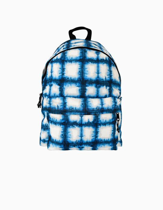 Backpack for Kids 'Ambar Cycle Blue Energy', Blue/White