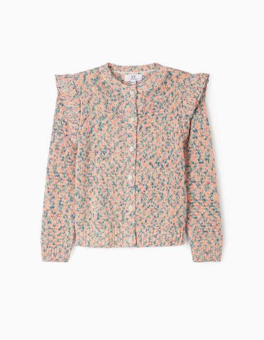 Cardigan for Girls, Multicoloured