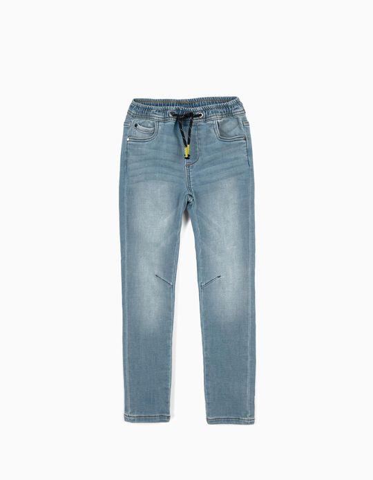Denim Trousers for Boys, Light Blue