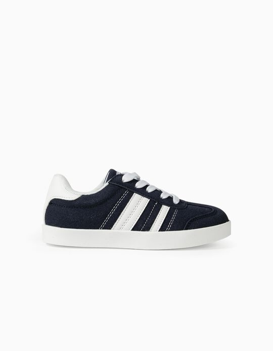 Zapatillas Infantiles 'ZY Retro', Azul Oscuro