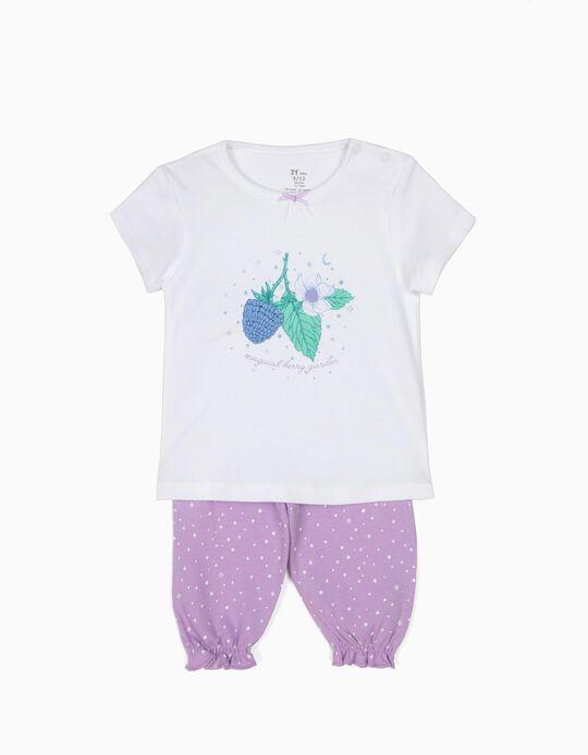 Pijama T-shirt e Calças Magical Berry Garden