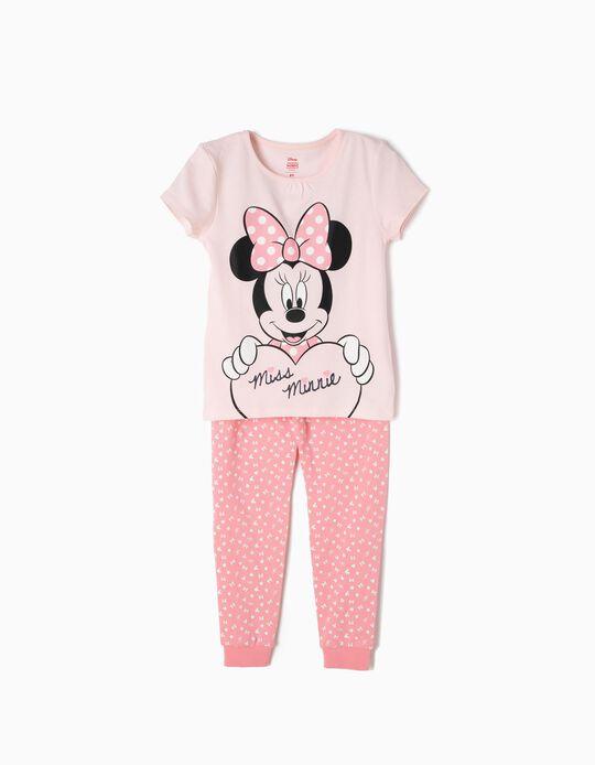Pijama Manga Curta e Calças Miss Minnie