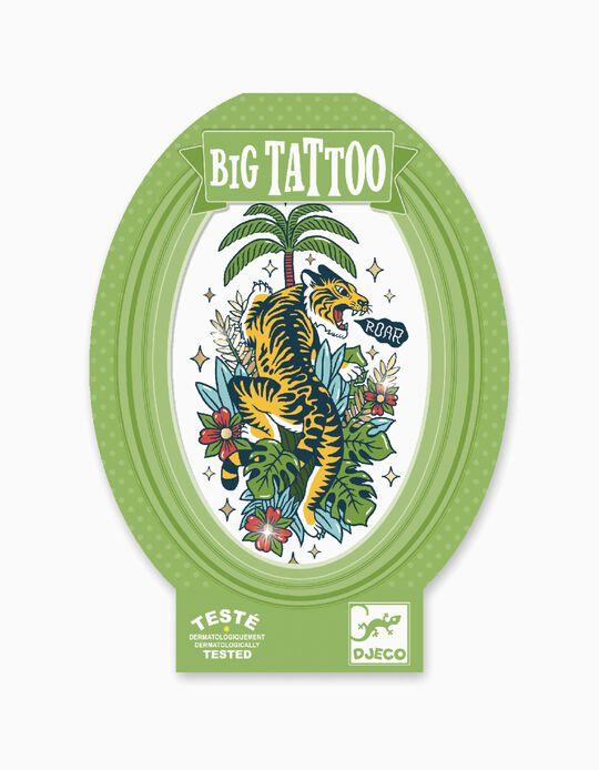 Big Tattoo Djeco Metal Tiger 6A+