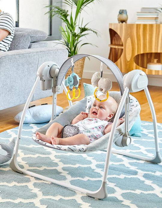 Baby Bouncer, Flo Kinderkraft, Mint