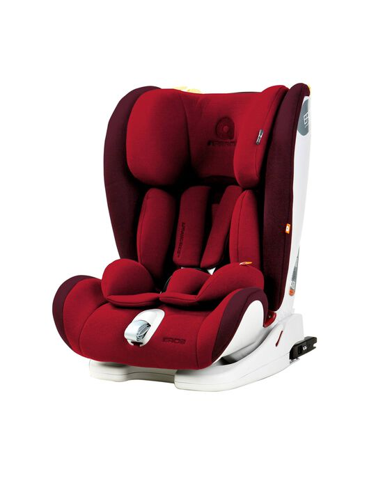 Car Seat Gr 1/2/3 Isofix Eros Apramo, Red