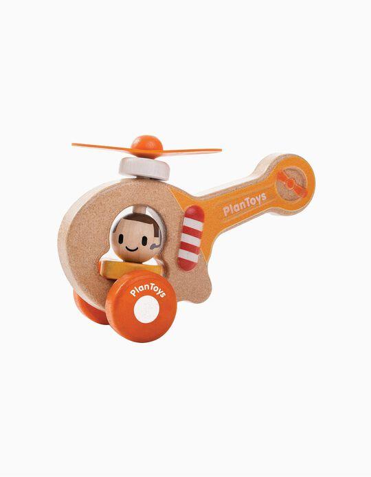 Helicóptero Plan Toys 12M+