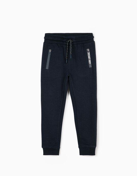 Pantalón de Chándal para Niño 'Rocket Boy', Azul Oscuro