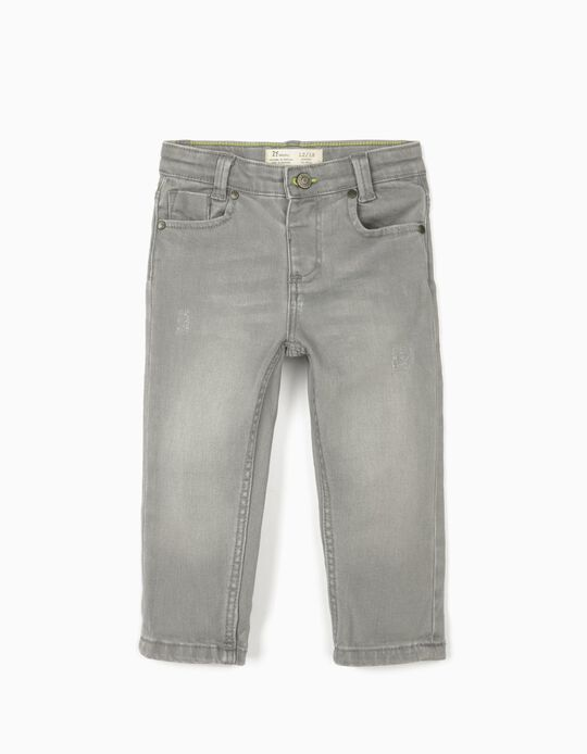 Jeans for Baby Boys, Grey