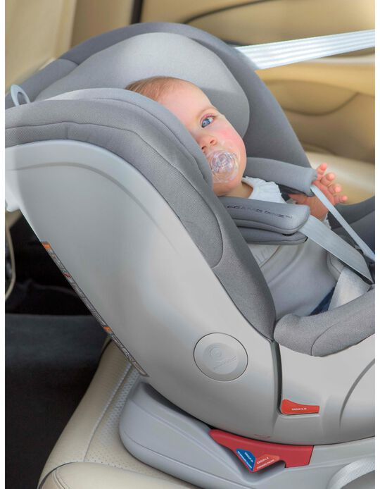 Cadeira Auto Gr 0/1/2/3 Isofix One Apramo Grey
