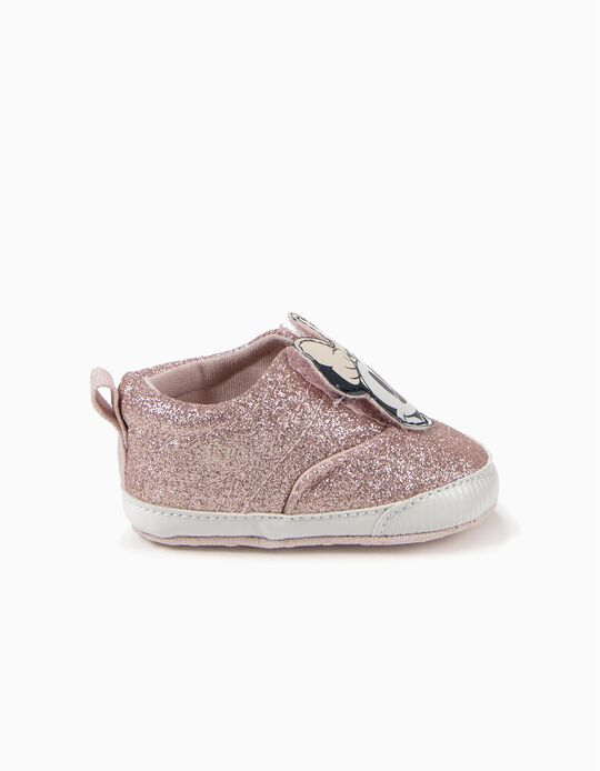 Zapatillas Pre-Walker Minnie Glitter