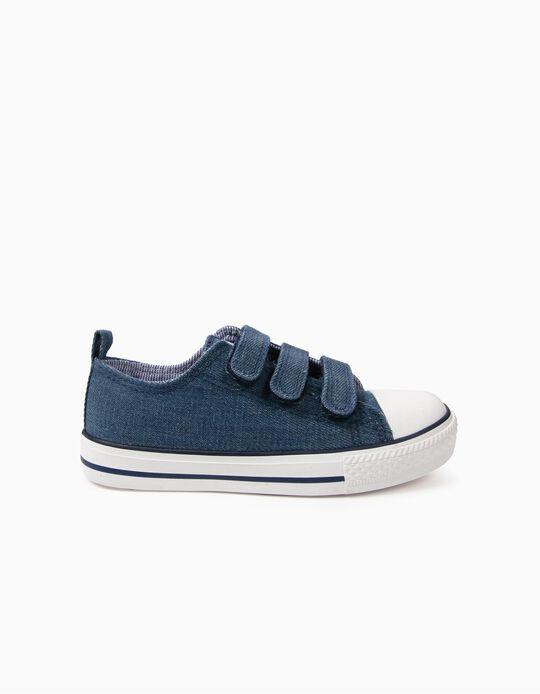 Sapatilhas para Criança '50's Sneaker' com Velcro, Azul