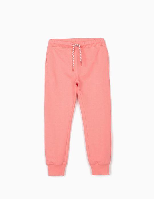 Pantalón de Chándal para Niña, Rosa