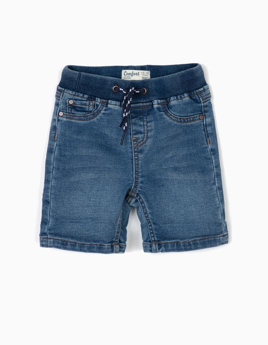 Shorts for Baby Boys 'Comfort Denim', Blue