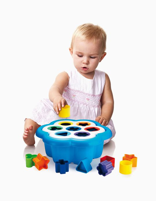 Daisy Shape Sorter by Quercetti, 16 Pieces
