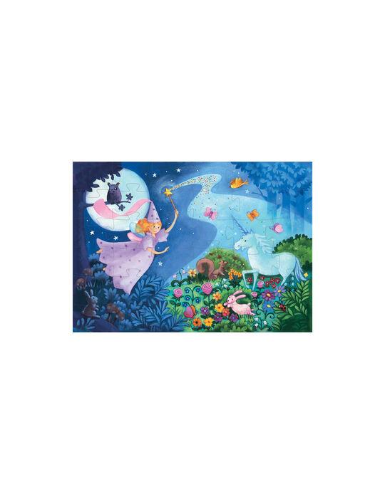 Puzle Silueta Fairy Djeco