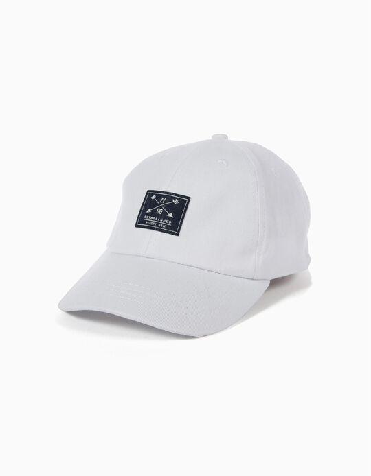 Gorra Béisbol Branca