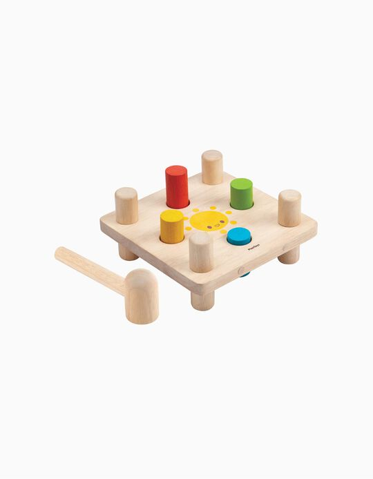 Juego del Martillo Plan Toys 12M+