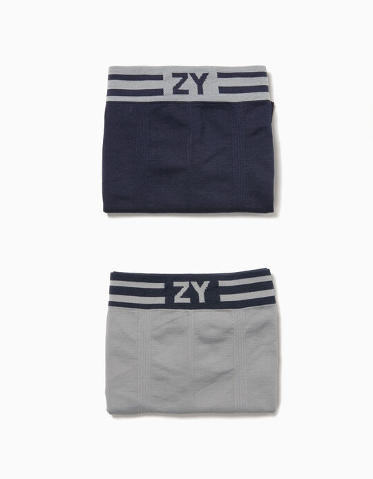 Pack 2 Boxers Sem Costuras ZY