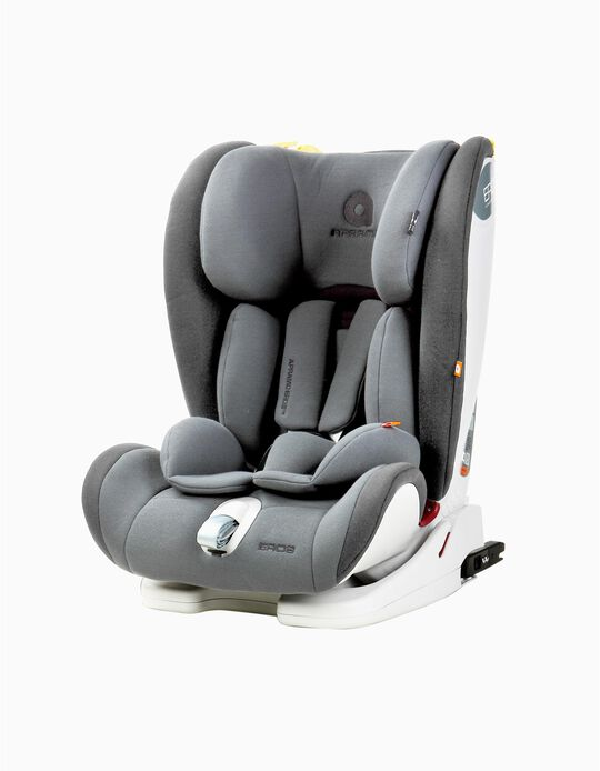 Car Seat Gr 1/2/3 Isofix Eros Apramo, Grey