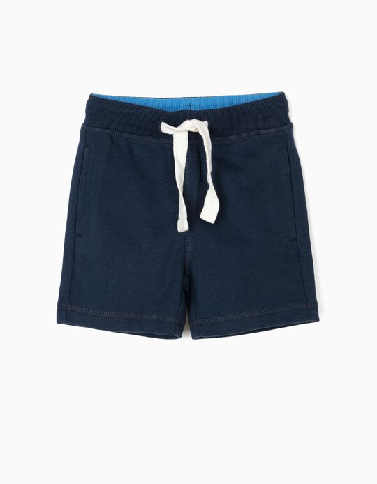 Shorts for Baby Boys, Dark Blue