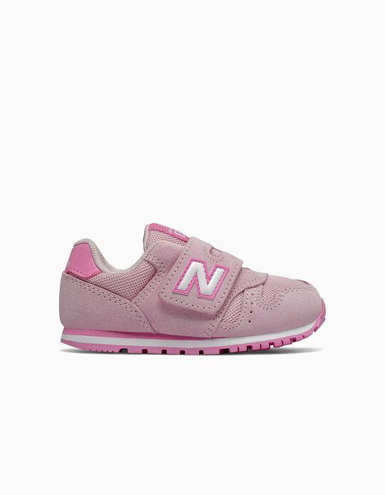 Sapatilhas New Balance 373 para Bebé, Rosa