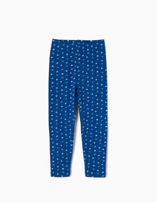 Leggings Estampados Azules