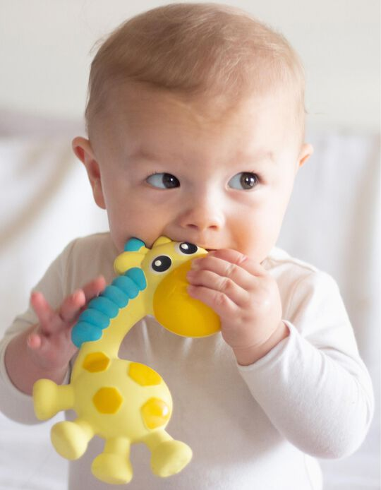 Squeak And Soothe Natural Teether Playgro