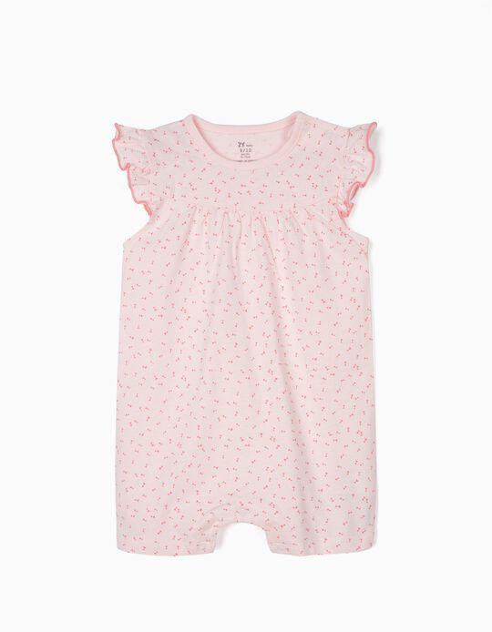 Pelele para Bebé Niña 'Little Bows', Rosa