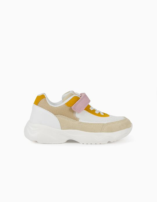 Chunky Trainers for Girls, 'ZY Superlight Runner', Multicoloured