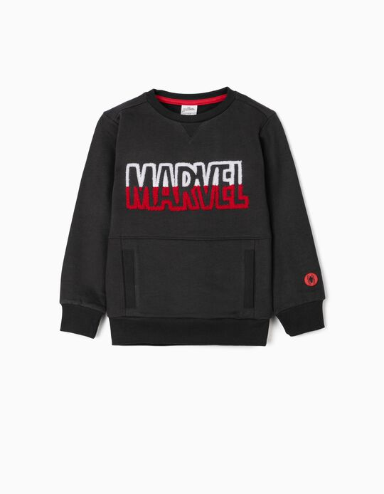 Sweatshirt for Boys 'Marvel',  Dark Grey